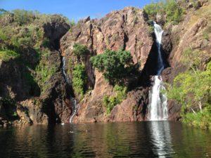 Wangi Falls in Litchfield