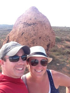 Large Termite Mounds in Western Australia