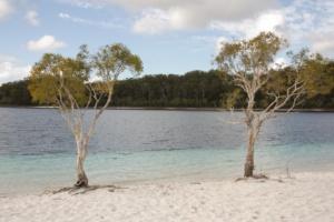Lake McKenzie of Fraser Island