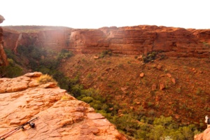 Kings Canyon in the Outback
