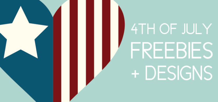 July 4th Freebies and Designs