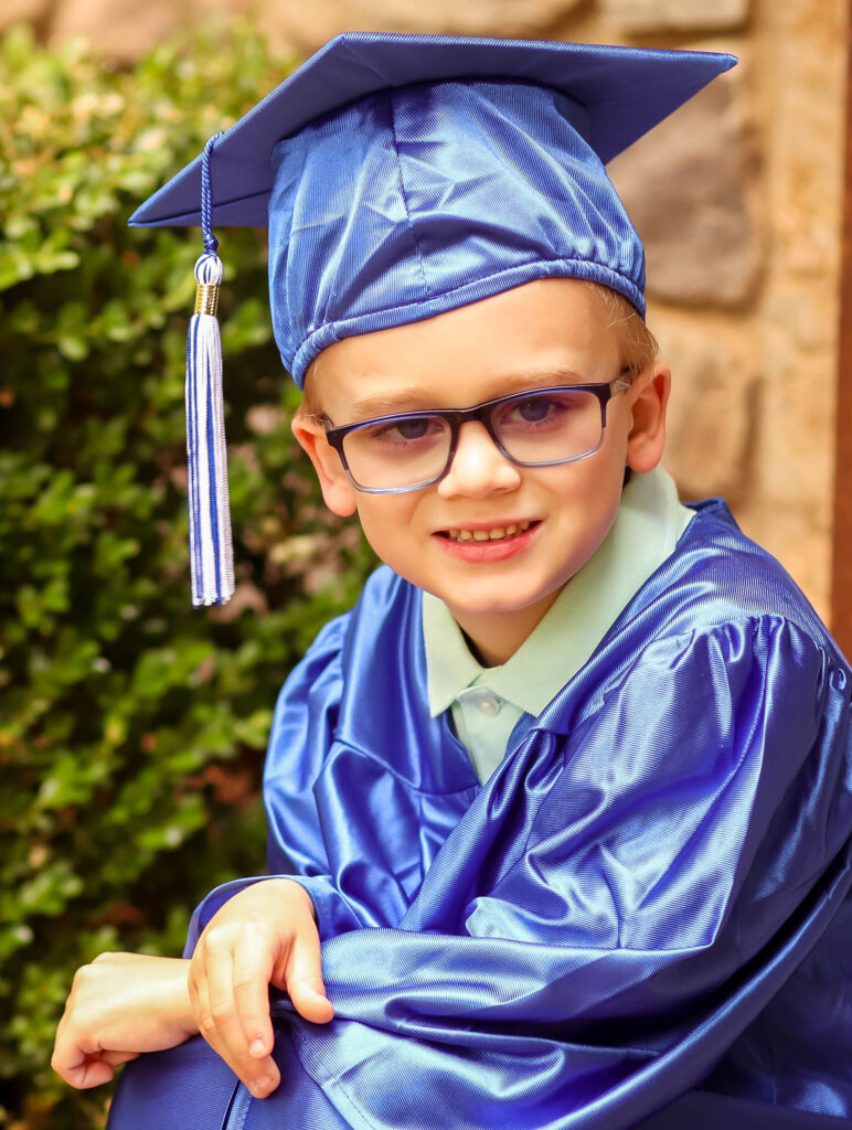 kindergarten graduation photoshoot