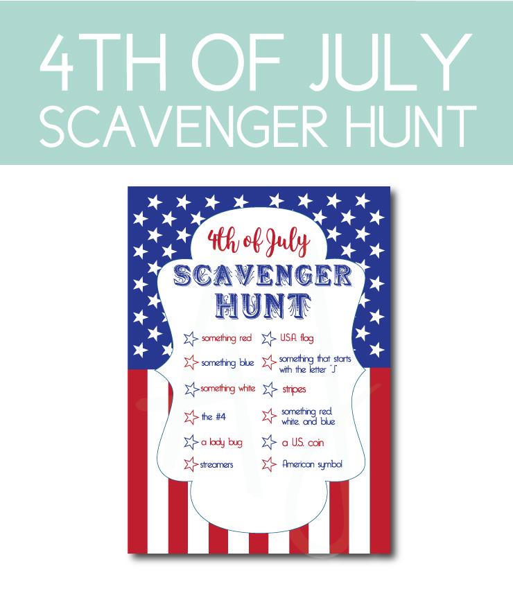 July 4th Scavenger Hunt