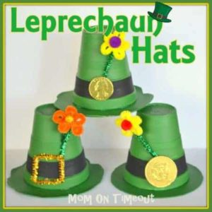Leprechaun Hats by Mom on Timeout