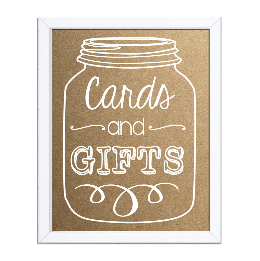 Mason Jar Cards and Gifts