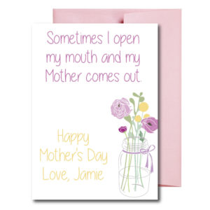 Funny Card for Mom