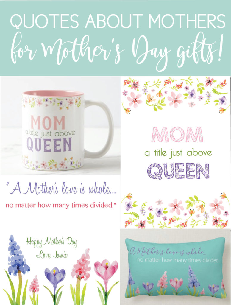 Mother's Day Gifts with amazing quotes