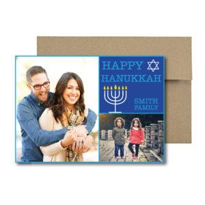 Multi Photo Hanukkah Card
