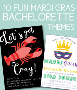 Mardi Gras Bachelorette Themes