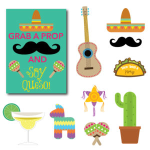 Fiesta Themed Photo Props