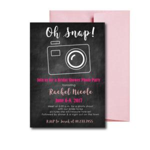 Photo Bridal Shower Invite