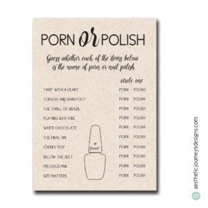 Porn or Polish
