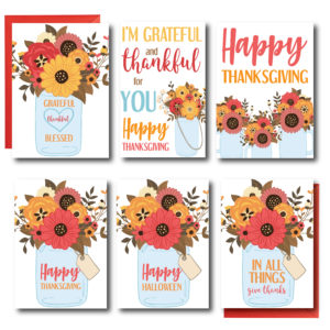 Fall Themed Set of Cards