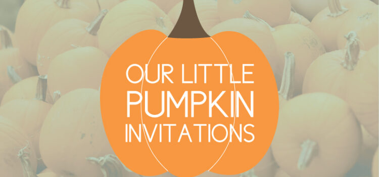 pumpkin invites for birthdays