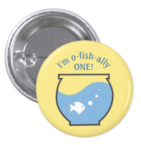Fishing Party Button