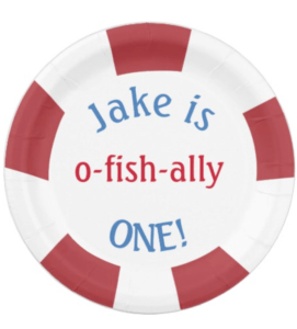 Fishing Party Plates