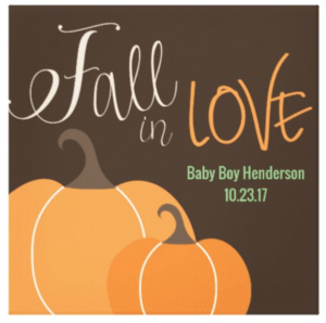 Fall Themed Home Decor or Gift
