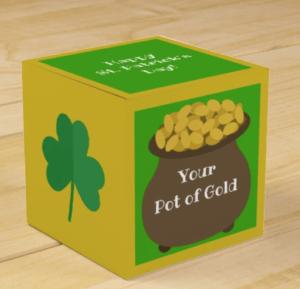 Pot of Gold Favor Boxes