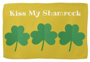 Kiss My Shamrock Kitchen Towel