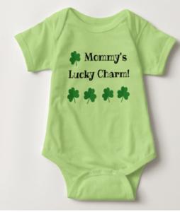 Mommy's Lucky Charm Onesie