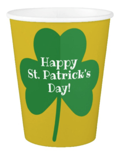 St. Patrick's Day Cups