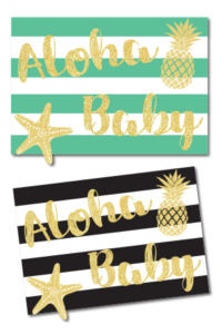 Free Aloha Baby Sign