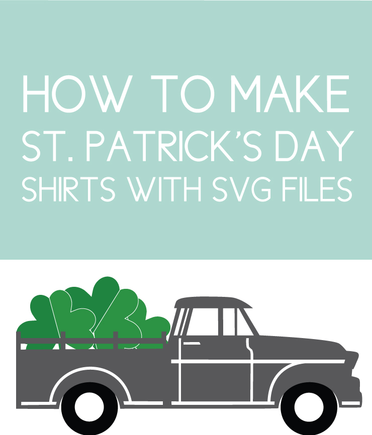 St. Patrick's Day Shirts Made with SVG files