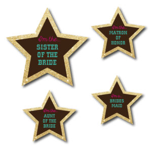 Country Themed Bachelorette Stickers