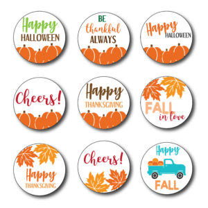 Fall Themed Stickers