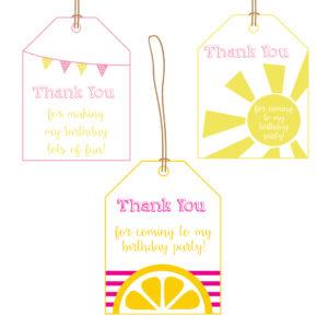 sunshine themed tags