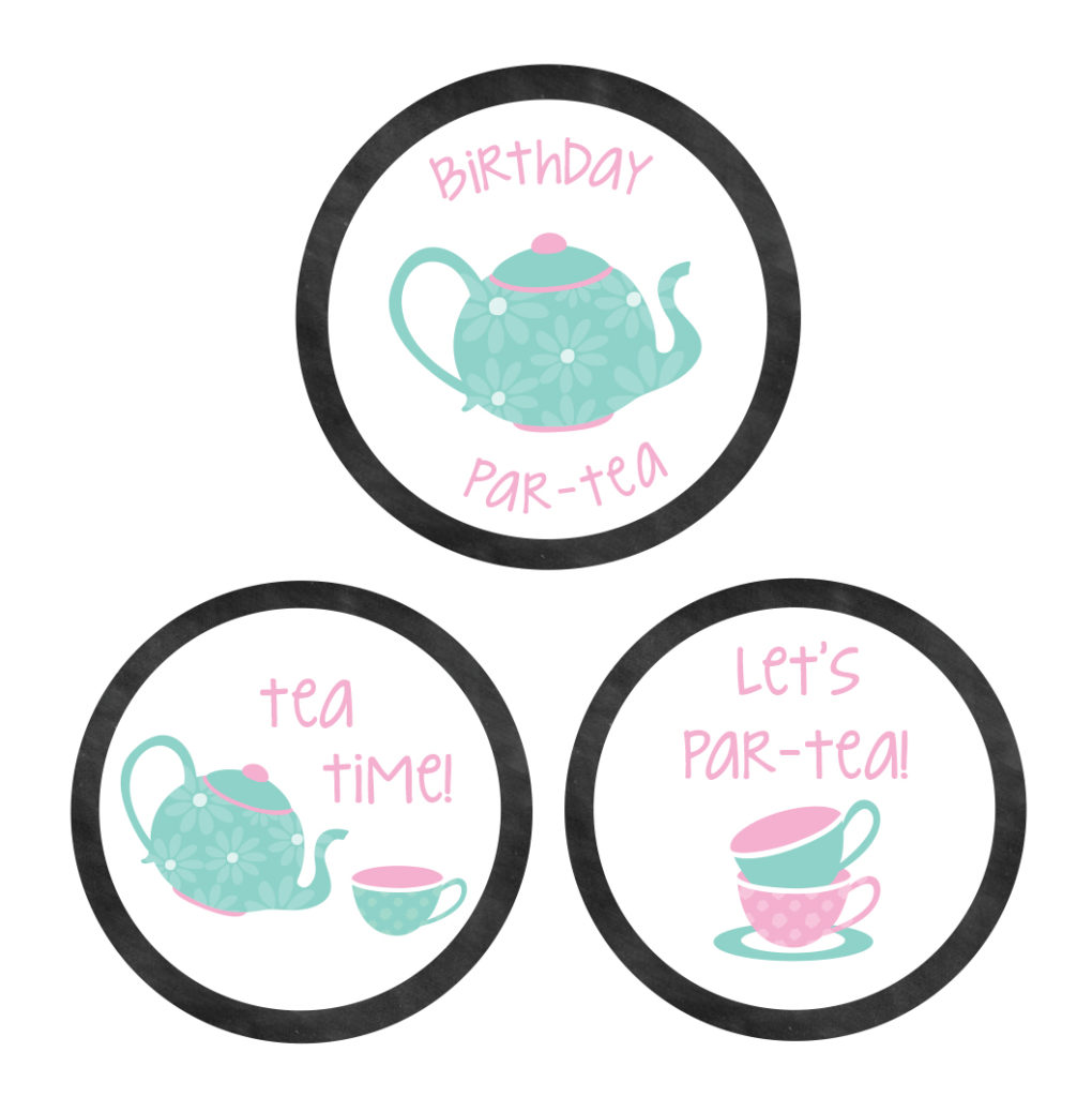 Chalkboard Tea Party