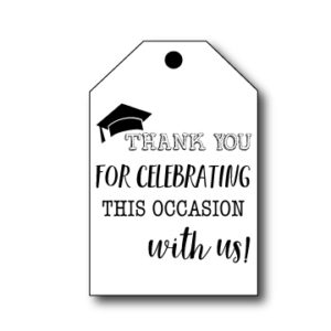 Graduation Thank You Tags
