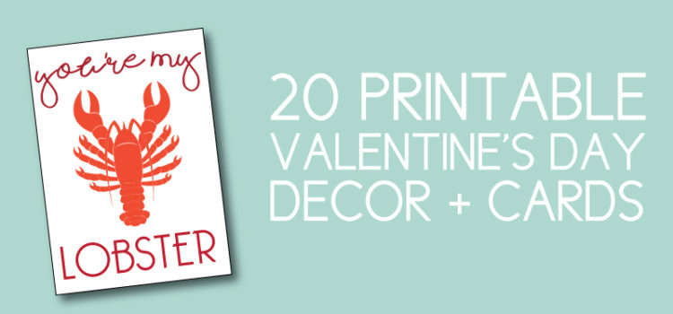 Easy Valentines Day Decor you can download instantly!