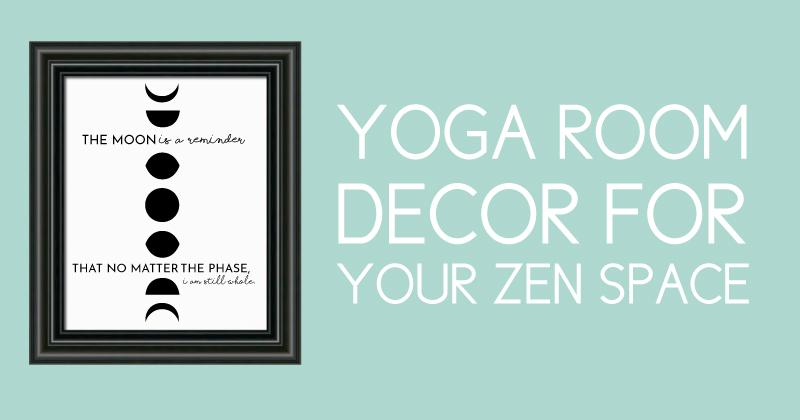 Yoga room decor