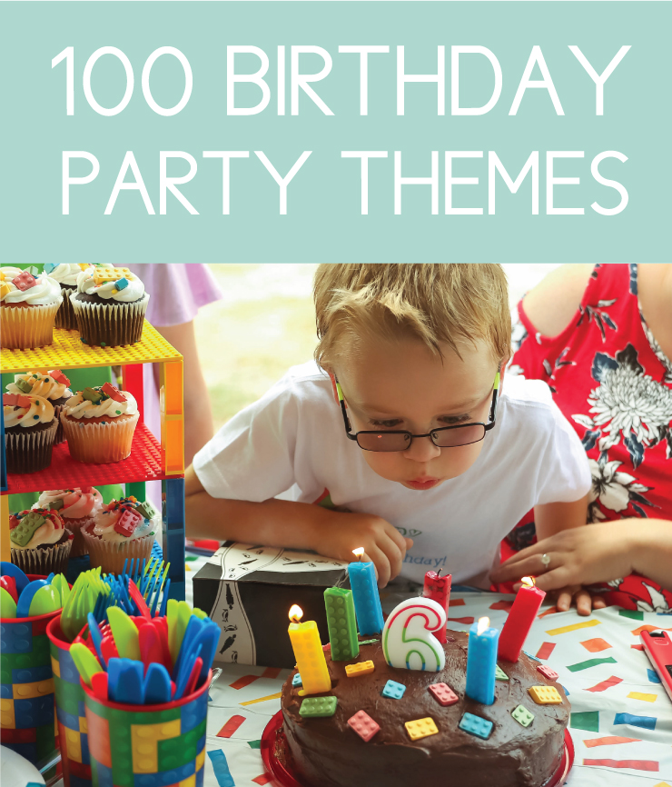Discover 100 birthday themes for kids, babies, and adults. You'll never be stuck for ideas again.