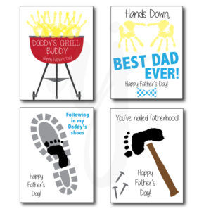 father's day handprint craft
