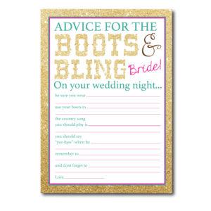 Country Themed Advice Card