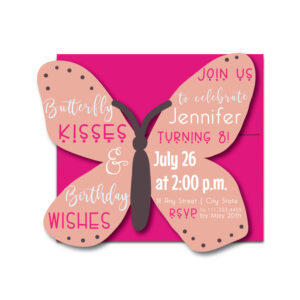 Butterfly Party Invite