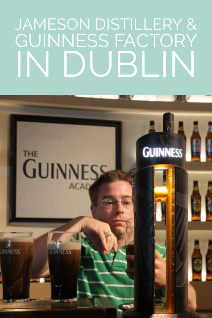 Pour the perfect pint of Guiness in Dublin