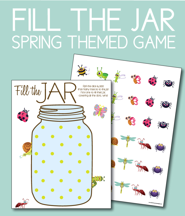 Free Games at home: Fill the Jar