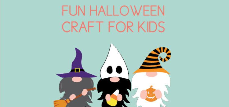 halloween gnome craft