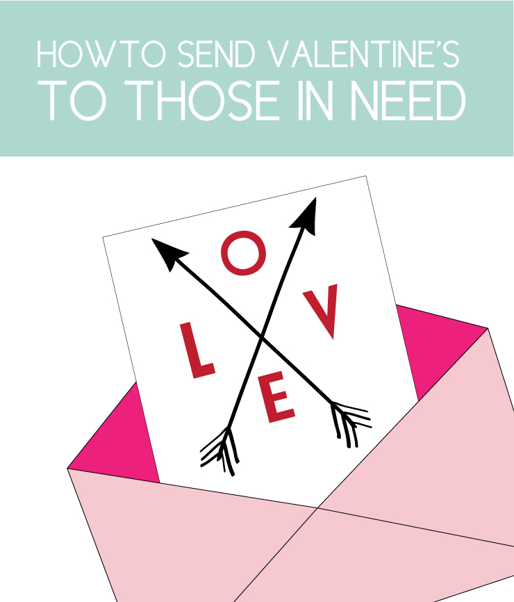 how to send valentine's to those in need