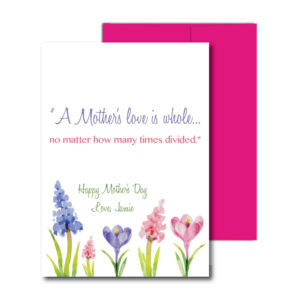 Card for Mom with Quote
