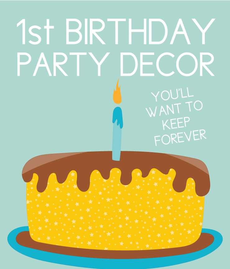 First birthday decorations