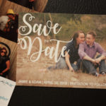 Photo Magnet Save the Date | Save the Date Magnet or Card with Envelopes Included | Set of 5 Save the Dates