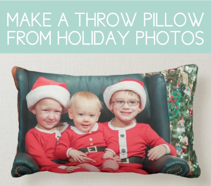 full photo throw pillow