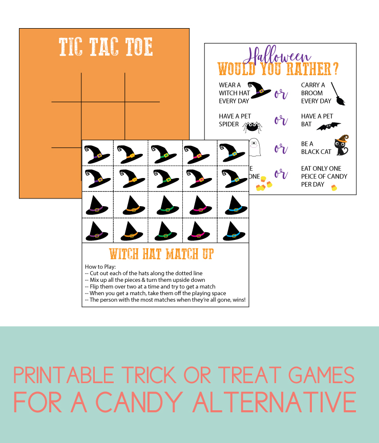 printable halloween games for a candy alternative