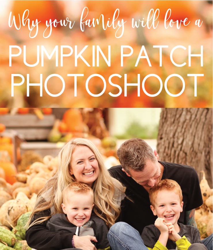 Why your family will love a pumpkin patch photoshoot