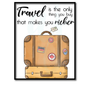 Travel Makes You Richer Quote