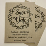 Floral Magnet Save the Date